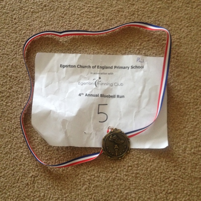 Egerton Bluebell Race - 7k and 2k Fun Run Results
