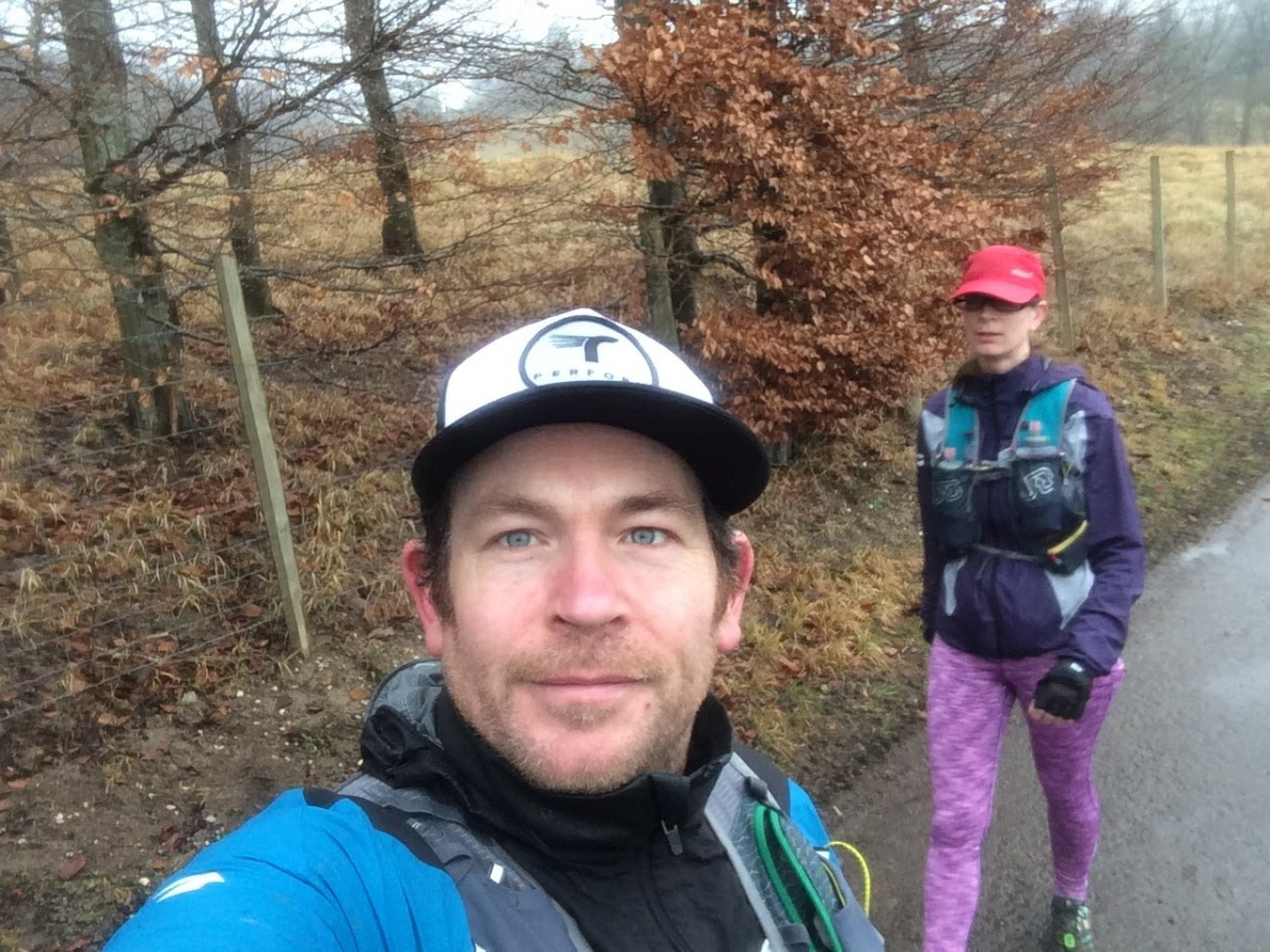 Cake, long runs, mud and friends - January 2018