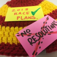 2018 plans and why you'll find no Revolutionary Resolutionist here!